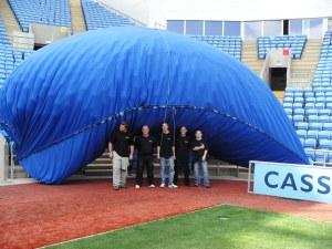 Balloon Release. Ricoh Arena 2005