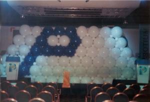 Exploding Balloon Wall
