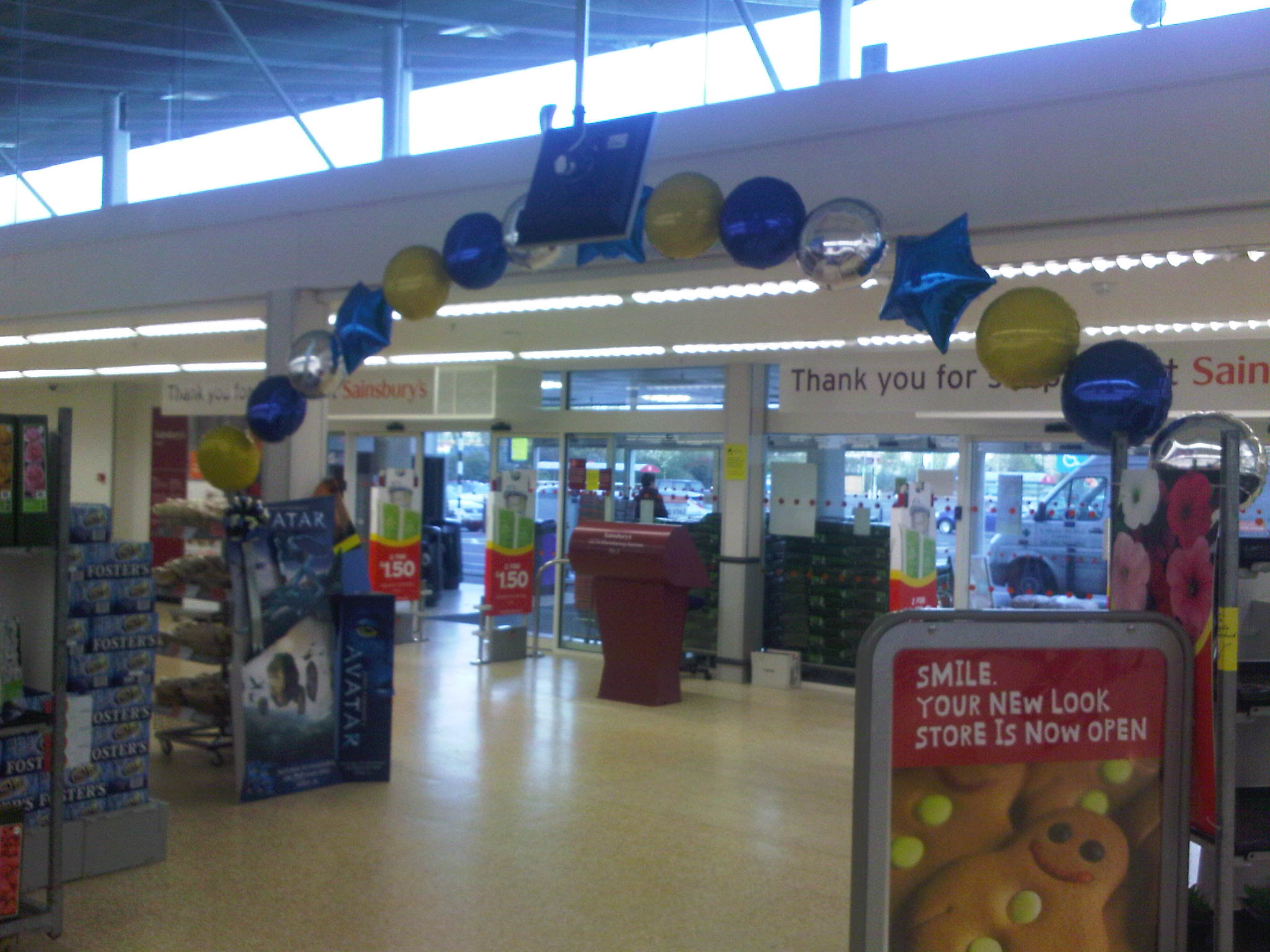 Avatar dvd release 26th april 2010 sainsburys canley for Balloon decoration courses dvd