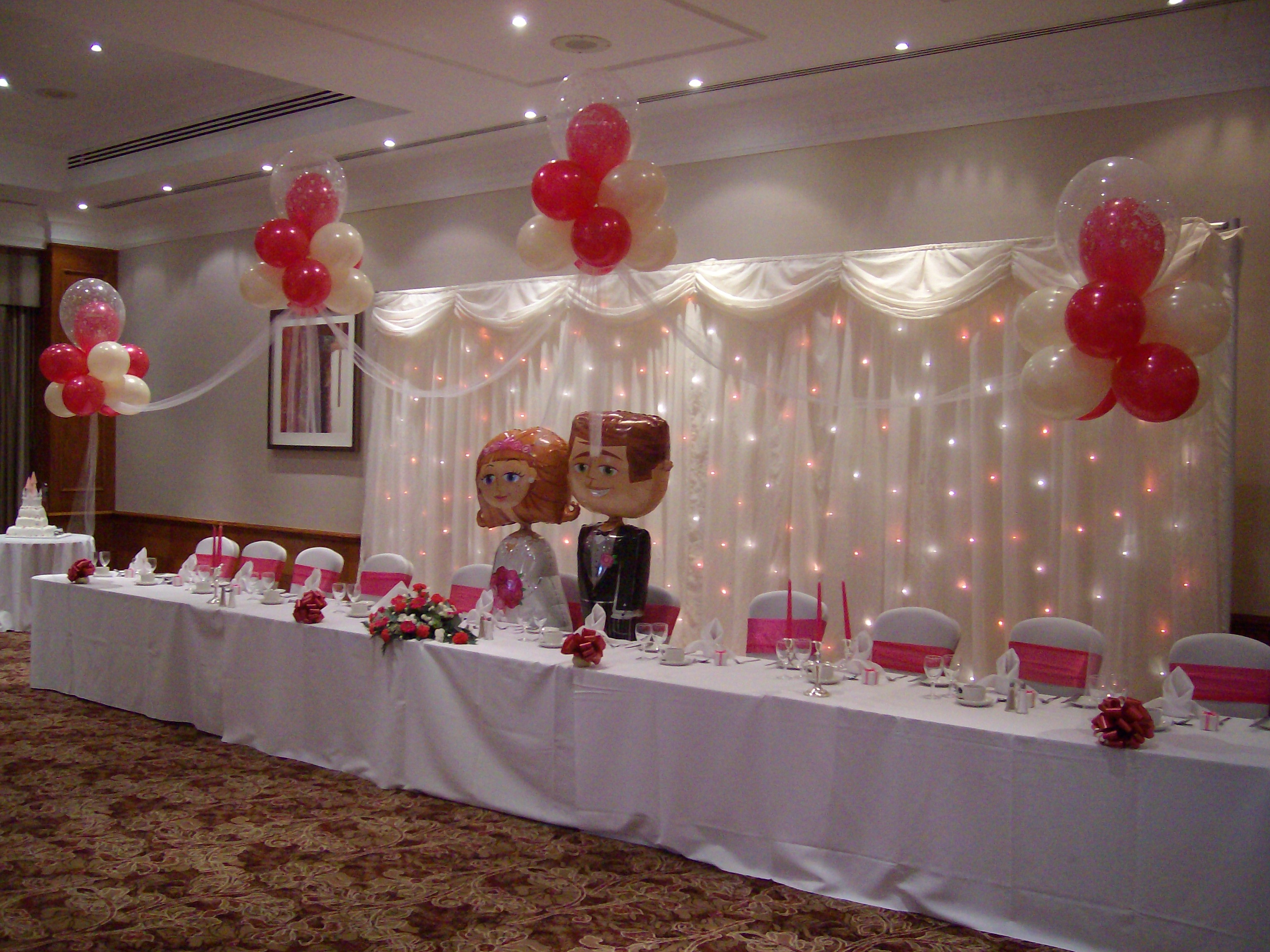 table top decorations for weddings matthew lewis displays and special occasion foils award 7904