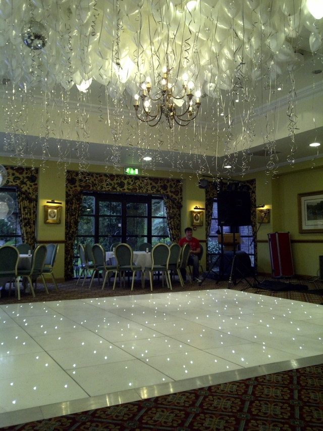 Ceiling fill and White LED dance floor